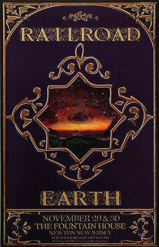 Railroad Earth Poster