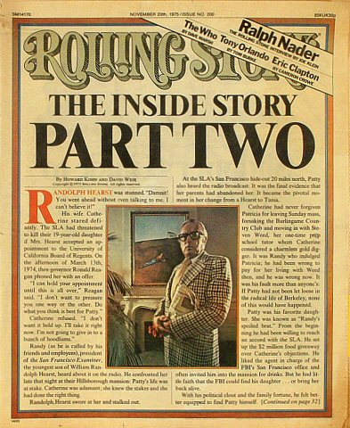 Ralph NaderRolling Stone Magazine