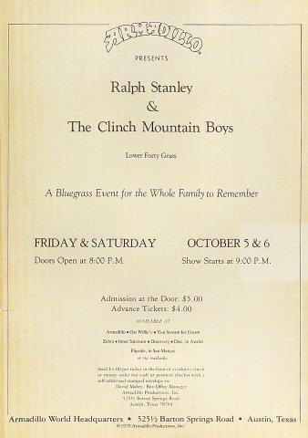 Ralph Stanley Poster