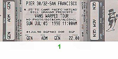 Rancid1990s Ticket