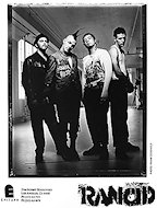 Rancid Promo Print