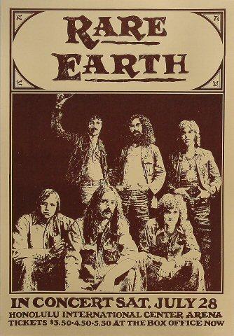 Rare Earth Poster