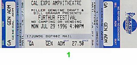 Mickey Hart's Mystery Box Vintage Ticket