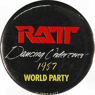 Ratt Vintage Pin