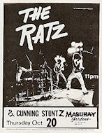 Ratz Handbill