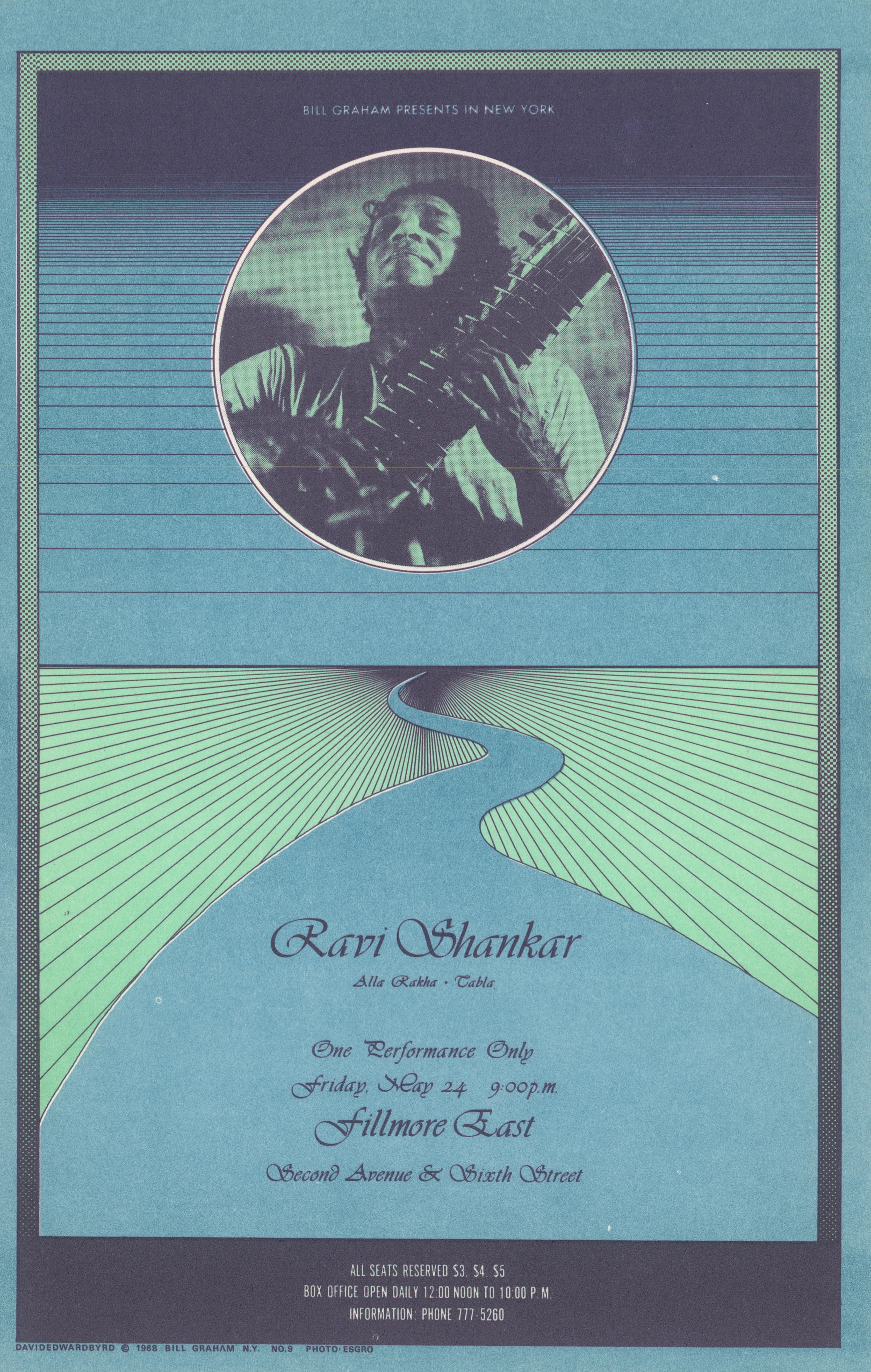 Ravi Shankar Postcard
