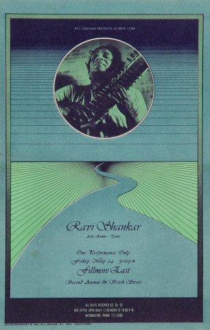 Ravi Shankar Postcard