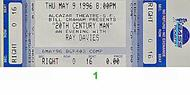 Ray Davies 1990s Ticket