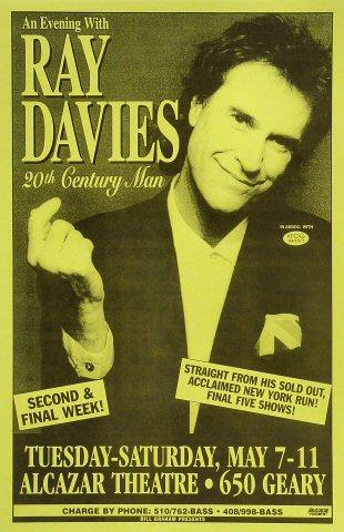 Ray Davies Poster