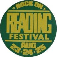 Reading Festival Sticker