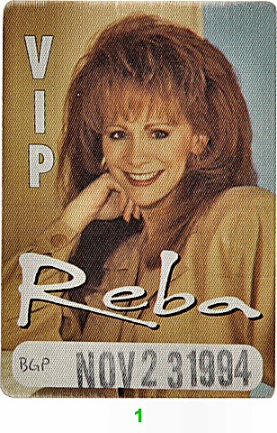 Reba McEntireBackstage Pass