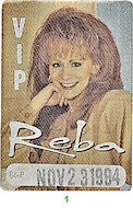Reba McEntire Backstage Pass