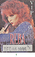 Reba McEntire Backstage Pass