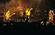 Red Hot Chili Peppers BG Archives Print