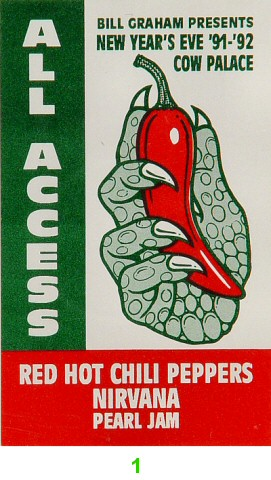Red Hot Chili Peppers Laminate
