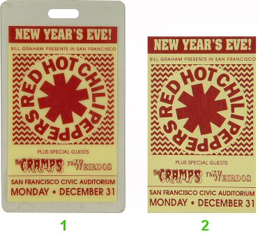 Red Hot Chili PeppersLaminate