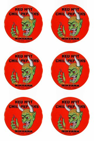 Red Hot Chili PeppersMagnet