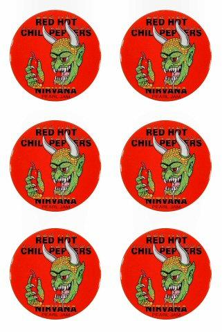 Red Hot Chili Peppers Magnet