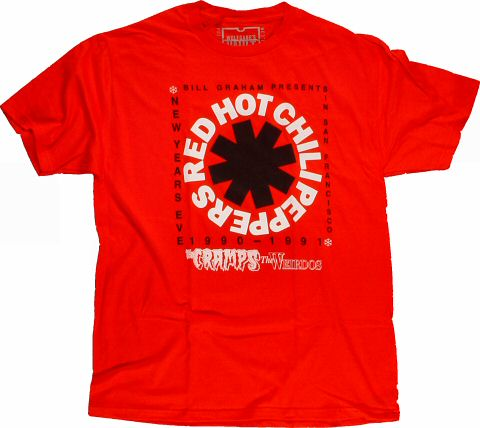 Red Hot Chili PeppersMen's Retro T-Shirt