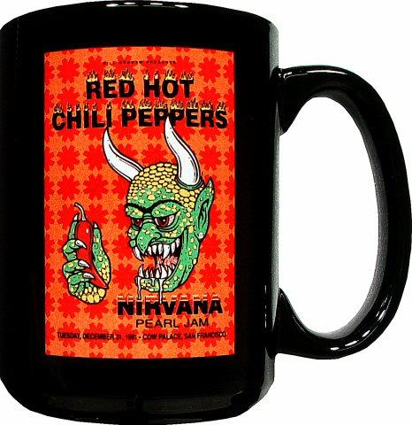 Red Hot Chili Peppers Retro Mug