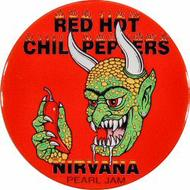 Red Hot Chili Peppers Retro Pin