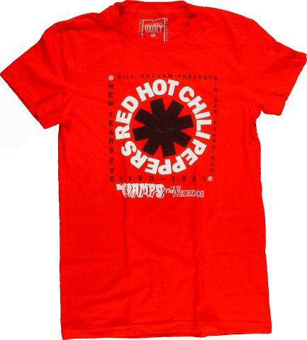 Red Hot Chili Peppers Women's Retro T-Shirt