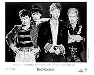 Red Rockers Promo Print
