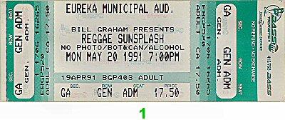 Reggae Sunsplash1990s Ticket