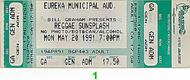 Reggae Sunsplash 1990s Ticket