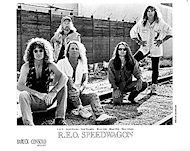 REO Speedwagon Promo Print