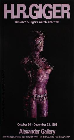 RetroNY and Giger's Watch Abart '93 Poster