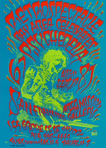 Retrospectacle: Bay Area Celebrates Psychedelia Postcard