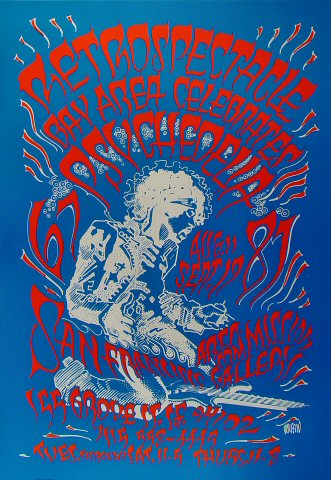 Retrospectacle: Bay Area Celebrates Psychedelia Poster