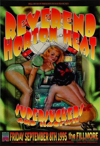 Reverend Horton HeatPoster