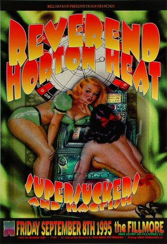 Reverend Horton Heat Poster