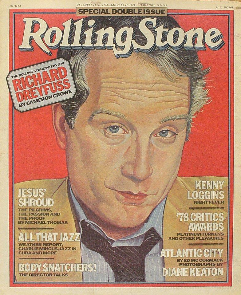 Richard DreyfussRolling Stone Magazine