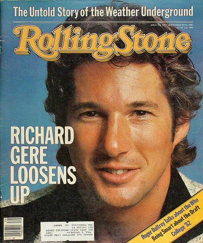 Richard GereRolling Stone Magazine