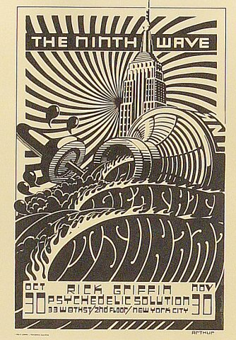 Rick Griffin Postcard