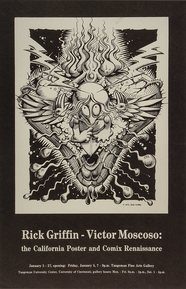 Rick Griffin Poster