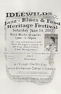 Rick Hicks Quartet Poster