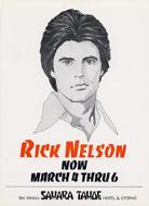 Rick Nelson Postcard