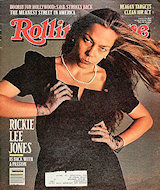 Rickie Lee Jones Rolling Stone Magazine