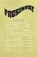Mahavishnu Orchestra Handbill
