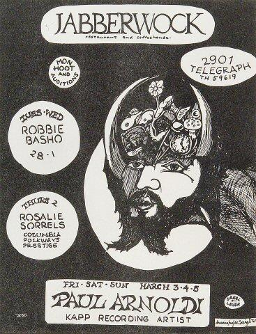 Robbie Basho Handbill