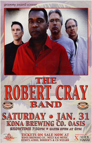 Robert Cray BandPoster