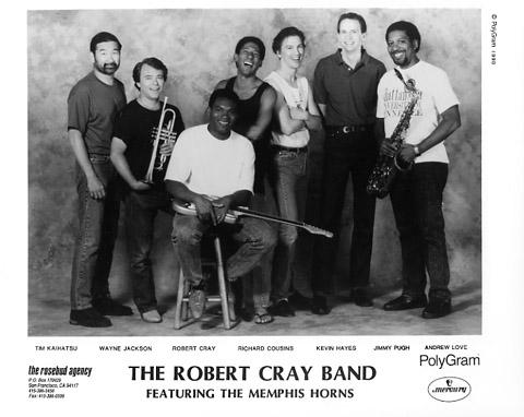 Robert Cray BandPromo Print
