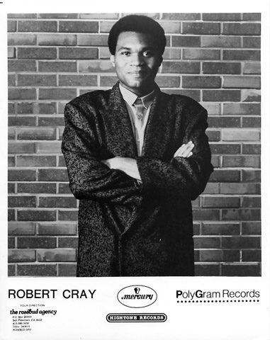 Robert CrayPromo Print
