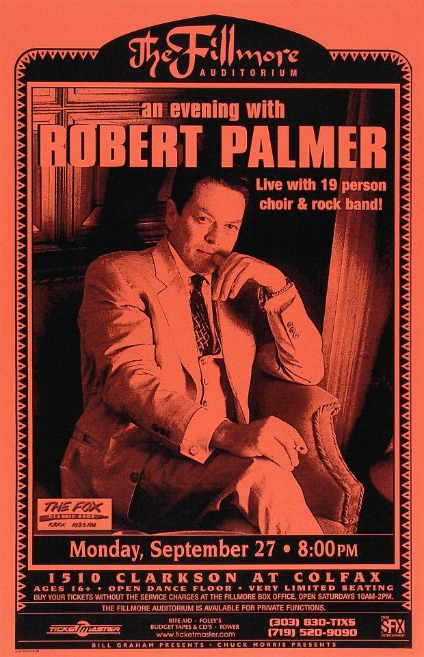 Robert PalmerPoster