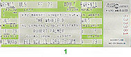 Robert Palmer Vintage Ticket
