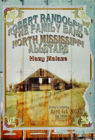 Robert Randolph &amp; the Family BandPoster